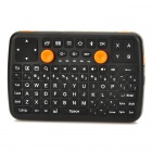 Mini-K3 Professional Bluetooth v3.0 92-Key Air Mouse w/ Game Controller - Black + Orange