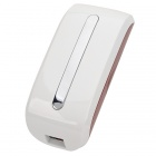 A1000 Wireless 3G 150Mbps Wi-Fi Router / 5200mAh Mobile Power Bank - White + Maroon
