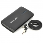 V-A8 3G Router / Wi-Fi Router / Network Storage / Repeater + 4000mAh Movable Power Bank - Black