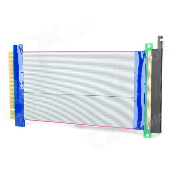 PCI-E 16X Riser Card Extender Flexible Extension Cable Ribbon Adapter pci e 16x экспресс 90 градусов адаптер riser card для 2u серверные корпуса компьютера