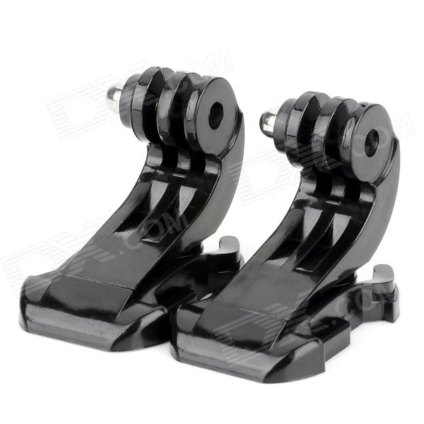 J-Hook Buckle for Gopro Hero 4/ 2 / 3 / 3+ / SJ4000 - Black (2 PCS)