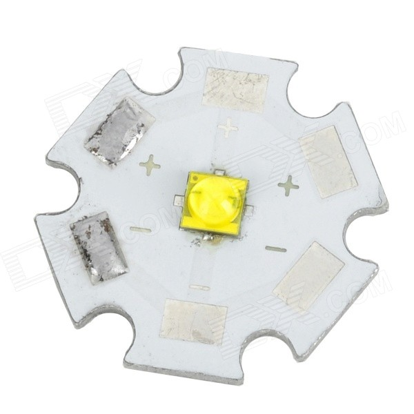 Replacement 20mm 5w 400lm 6500k White Light Bead for Flashlight - Silver