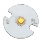 LG 3535-3 Replacement 16mm 3w 240lm 3200k Warm White Light Bead for Flashlight - Silver White