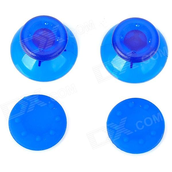 Replacement Thumbstick Joystick Caps Set for Xbox 360 - Blue (Pair) anti slip tpu joystick thumbstick cap covers for ps4 xbox one blue 10 pcs