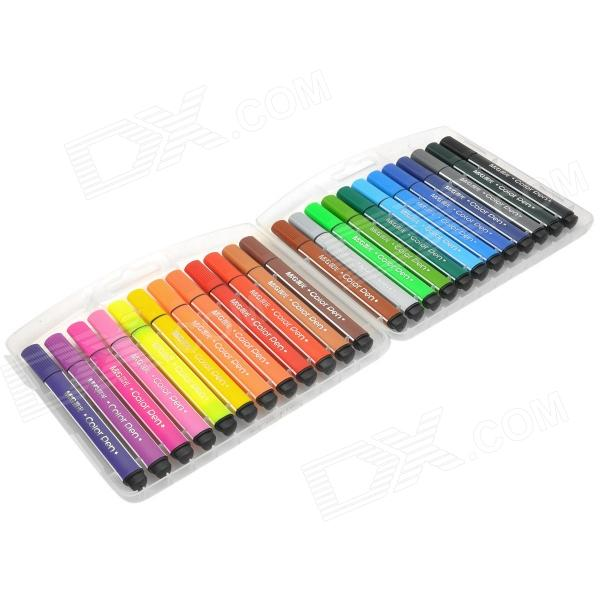 M&G TCP90183 Triangular Penholder 24-in-1 Color Pen Set от DX.com INT
