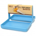 Kitchen Plastic Table Top Shelf - Blue