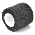 Constable Convenient Self-adhering Elastic Non-woven Fabric Bandage - Black (450cm)