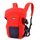 TCB0405 Backpack Style Infant Baby's Carrier Sling - Red + Black
