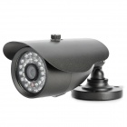 "ICAMI CA-3080K-I 1/3"" CCD 600 Lines Waterproof Surveillance Security Camera w/ 30-IR LED - Black"