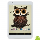 "Ramos X10 7.85"" HD IPS Quad Core Android 4.1 Tablet PC w/ 1GB RAM / 16GB ROM - Silver + White"