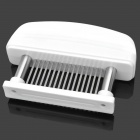 Kitchen Stainless Steel 16 Spikes Meat Tenderizer - White
