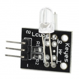 KEYES Finger Heartbeat Detection Sensor Module for Arduino - Black + White