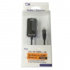 CY MH-040 Slimport MyDP Micro USB to HDMI HDTV Full HD Adapter for LG Google Nexus 4 E960 - Black