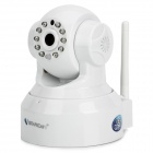 "VSTARCAM T6836WTP 1/4"" CMOS 0.3MP IP Network Camera w/ Wi-Fi / TF / 10-IR LED / Microphone - White"