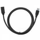 USB 3.0 Female to Male Extension Data Cable - Black (150cm)