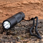 J28-3 Cree XP-G R5 280lm 5-Mode Cool White Flashlight - Black (1 x 18650)
