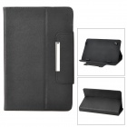 "Universal Protective PU Leather Case for 9"" Tablet PCs - Black"