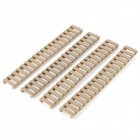21mm Weaver Rail Covers for Hunting Guns - Beige (4 PCS)