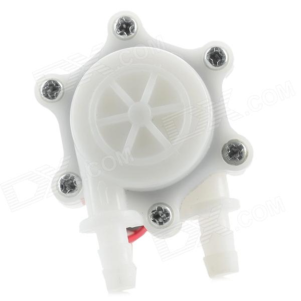 HS05 High Precision Water Flow Sensor - White mj db20 g3 4 cooper material with high accuracy water flow sensor for splar water heater heat pump and chiller flow switch