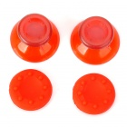 Replacement ThumbStick Joystick Caps Set for Xbox 360 - Red (Pair)