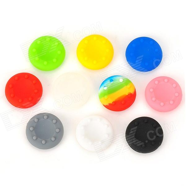 Thumbsticks Joystick Grips for PS3 / PS2 / Xbox 360 - Multicolored (10 PCS)