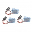 Replacement 2.5g Digital Servo for R/C Helicopter - Grey + White (3 PCS)