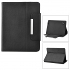 "Universal Protective PU Leather Case for 8"" Tablet PCs - Black"
