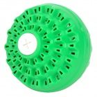 Negative Ion Nano Decontamination Laundry Washing Ball - Green