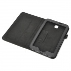 Protective PU Leather Case for Samsung Galaxy Tab 3 P3200 - Black