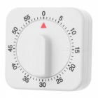 Wind-up Plastic Count Down Timer - White