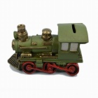 Nostalgische Resin Locomotive Stil Saving Pot / Piggy Bank - Bunt
