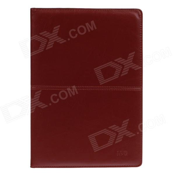 M&G APY4F361 P21 B5 PU Leather Rubber Sleeve Notebook - Brown (100-Sheet)