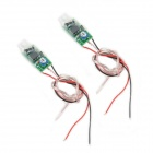 2.4W Car LED Lamp Adjustable Stroboscopes - Green (2 PCS / 12V)