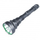 NITEFIRE NFU-10 Cree XM-L U2 680lm 5-Mode Memory Cool White Flashlight - Grey (2 x 18650)