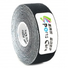 SPC Useful Cotton Kinesio Tape for Sports / Exercise - Black (500cm)