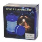 JG-801 Conveniente Outdoor 2-mode Tent Lamp LED para Camping - Azul (3 x AAA)