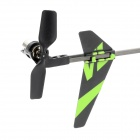 "WLtoys V911-1 y 4 canales 2.4GHz R / C Helicopter w / 2.8 ""LCD Mando a distancia - Verde + Negro"
