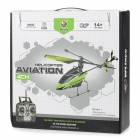 "WLtoys V911-1 4-Channel 2.4GHz R / C Helicopter w / 2.8 ""LCD Controle Remoto - Verde + Preto"