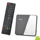 Jesurun M5 android 4.2.2 dual core mini google TV player w / 512MB / 4GB ROM + control remoto - negro