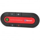 Vehicle-mounted Bluetooth V3.0 + EDR Handsfree Kit - Schwarz + Rot