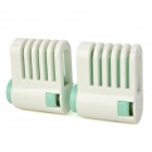 Kitchen Slice of Bread / Cake Separators - White + Green (2 PCS)