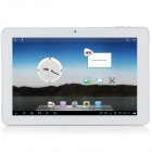 "AMPE A10 Flagship 10.1"" IPS Android 4.1.1 Quad Core Tablet PC w/ 16GB ROM, 2GB RAM - White + Silver"