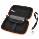 "G-COVER Protective EVA Nylon Bag for 5"" GPS Navigator - Orange + Silver"