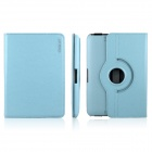 ENKAY ENK-7203 360' Rotation Protective PU Leather Case Stand for Amazon Kindle Fire HD 7 - Sky Blue