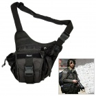 ADDER Convenient Durable Water Resisting Nylon Outdoor Single-shoulder Bag - Black (28L)
