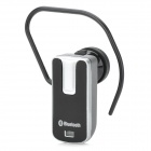 Universal Mini Bluetooth V2.0 Handsfree Headset - Black + Silver