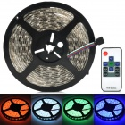 Waterproof 72W 3600lm 300-SMD 5050 LED RGB Car Decoration Light Strip w/ RF Controller
