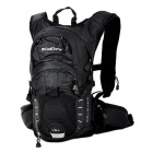 CoolChange 03007 Outdoor Sports Cycling Nylon Backpack - Black (15L)