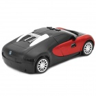 ChuangZhuo CZ03 Car Model Style Full-Band Smart Radar Detector - Red + Black