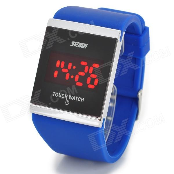 SKMEI 0983 Zinc Alloy Rectangle Touch Screen LED Digital ...